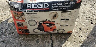 Ridgid K-30 AUTO-CLEAN Sink Machine Needs cable replaced.