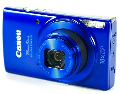 Canon PowerShot ELPH 190 Digital Camera w/ 10x Optical Zoom, Image Stabilization
