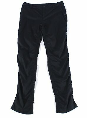 The North Face Women's Pants Black Size 6 Mid-Rise Ruched Stretch $99 575