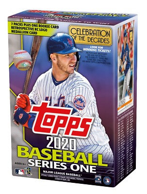 2020 Topps Baseball Series 1 MLB Cards Blaster Box