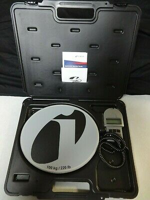 Inficon Wey-TEK Refrigerant Charging Scale 713-202-G1 NR Auction