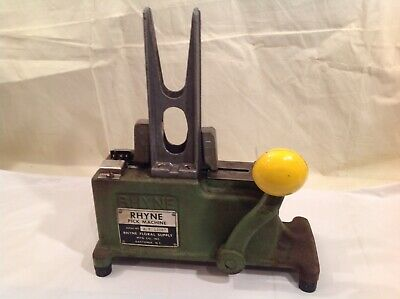 Vintage RHYNE Pick Machine Flower Stem Pick Machine