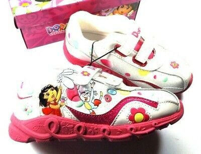 New Toddler Nickelodeon Dora /& Friends Sneaker 39102 Size 9 Black//Pink 101A dr