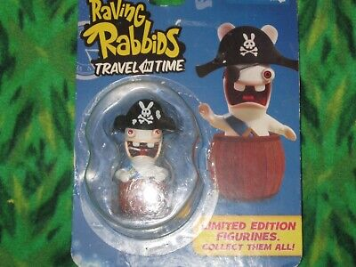 "2.5/"" cow-boy Figurine Raving Rabbids Travel in Time Ubisoft édition limitée Rayman"