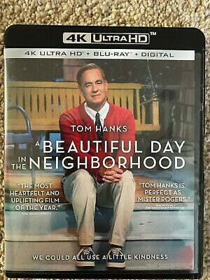 A Beautiful Day in the Neighborhood (4K UHD Disc ONLY) w/ ARTWORK/CASE! SEE INFO