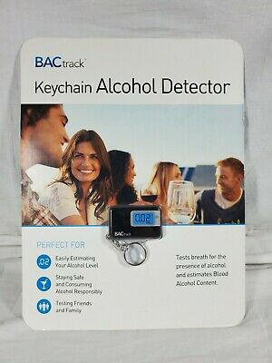 BACtrack Keychain Alcohol Detector Breathalyzer New In Package