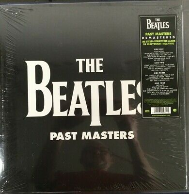 The Beatles - Past Masters, Vol 1&2 Remastered, 2Lp, New Sealed,Apple Issue 2012