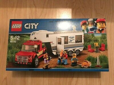 LEGO City Pickup and Caravan 60182 BRAND NEW Sealed in Box FREE Signed Delivery