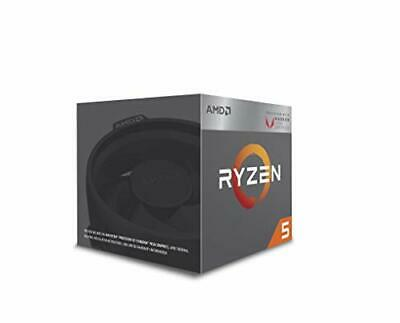 AMD CPU Ryzen 5 2400G with Wraith Stealth cooler YD2400C5FBBO 42247 fromJAPAN