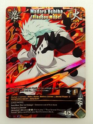 Custom Card PrismCard Abuto Yakushi Naruto Fan Limited