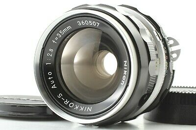 [ Exc+4 ] Nikon Nikkor-s Auto 35mm f2.8 Ai Converted Wide Angle MF Lens JAPAN