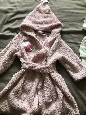 Girls dressing gown..Peppa Pig..size 18-24 months