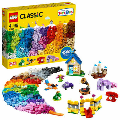 New LEGO XL 1500 Pieces Classic Extra Large Creative Brick Box With Ideas 10717