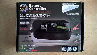 BC Smart 1500 12v/1.5A Battery Charger & Maintainer