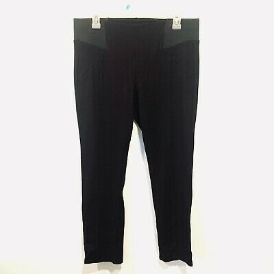Women's Copper Key Black High Waisted Leggings-size XL