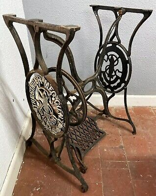 Vintage Very Old RARE  singer sewing machine base