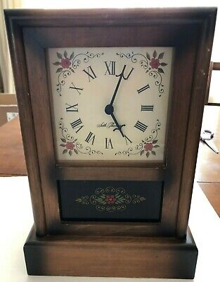 Seth Thomas Mantle Clock Replica II Vintage Model 0809-200