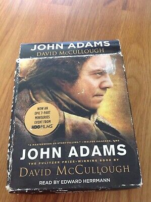John Adams by David McCullough (Nine disc CD-Audiobook, 2008)