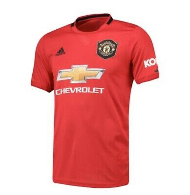 OFFICIAL ADIDAS Manchester United Home Shirt Size Medium NEW