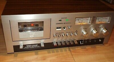 Superb AKAI GXC-730D Cassette Deck Stunning Condition and Sound SERVICED