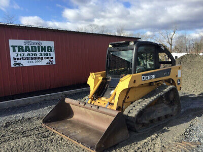 2007 John Deere CT322 Compact Track Skid Steer Loader w/ Cab Only 2200 Hours!!