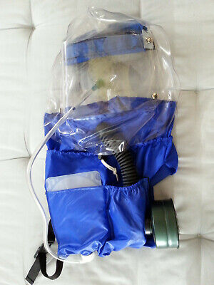 Neoterik Infant Protector Hood NBC gas mask for babies, see video