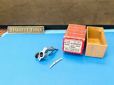 STARRETT No. 671 Universal Attachment For Dial Indicators. Made in the USA.