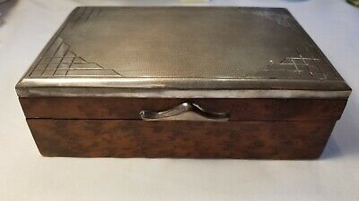 800 Silver Mounted Box/Humidor