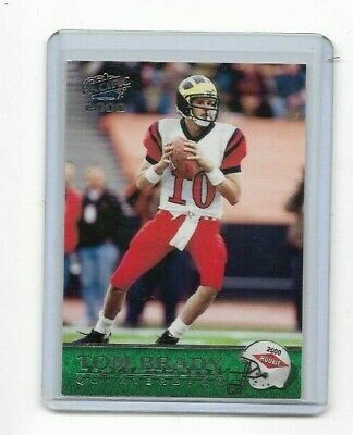 Tom Brady 2000 Pacific Football Rookie Card #403 - New England Patriots