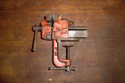 Vintage Record Imp no 80 Bench Vice With Anvil