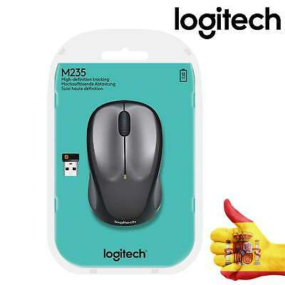 Ratón Mouse Inalambrico Mini Wireless Negro USB PC Trabajo Sin Cables Logitech