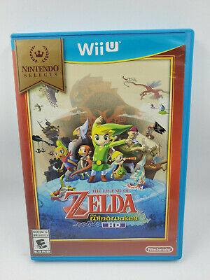 Legend of Zelda: The Wind Waker HD Nintendo Selects (Wii U, 2016) FREE SHIPPING