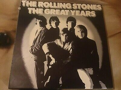 The Rolling Stones The Great Years Boxset Vinyl 3 Records Only