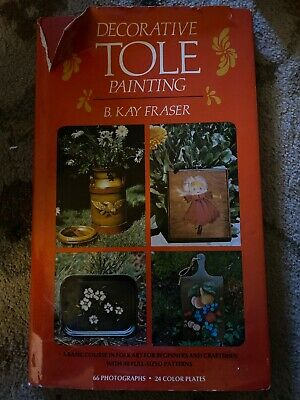 Decorative Tole Painting By B.kay Fraser