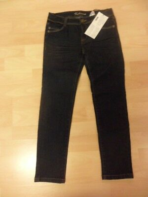 New With Tag La Redoute Girls Dark Blue Jeans age 9