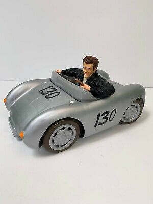 50th Anniversary James Dean Porsche 550 Spyder Cookie Jar 2400 Limited Edition