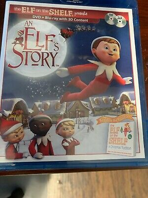 An Elfs Story (Blu-ray Disc, 2011, 3D) Elf On The Shelf DVD Bluray