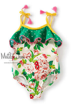 Matilda Jane Tween Girls Lake Day SwimSuit Sz 14 New without Tags