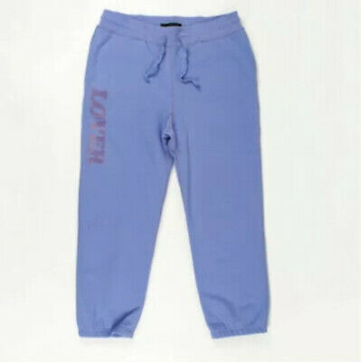 """BIANCA CHANDÔN Men's """"Lover"""" Sweatpants Lavendar LARGE Made In CANADA New w// Tag"""