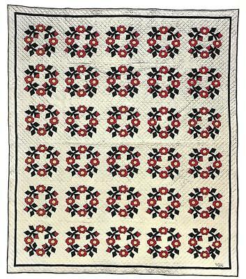 *Hollyhock Quilt quilting pattern instructions