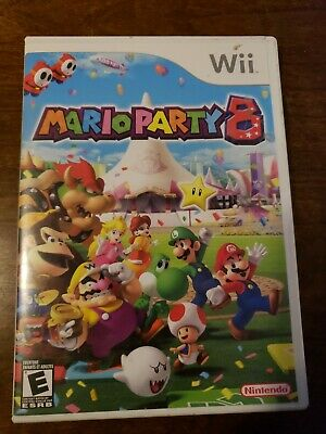 Mario Party 8 (Nintendo Wii, 2007) with Manual - Tested & working