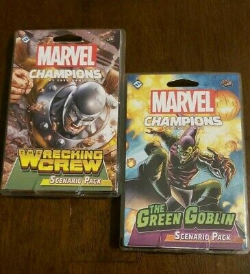 Marvel Champions:Green Goblin AND The Wrecking Crew Scenario Pack