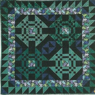 Fancy Frogs Quilt quilting pattern instructions