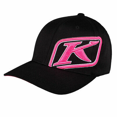 Klim Rider Cap Black / Knockout Pink