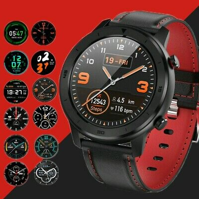 IP68 Smart Watch Bluetooth Heart Rate Monitor Fitness Waterproof For Android iOS