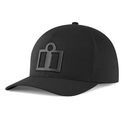 Icon Tech Curved Bill Hat Black