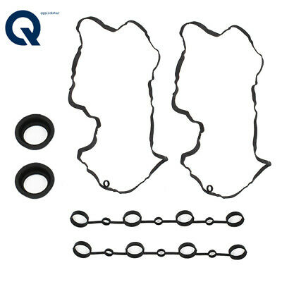 Gasket for Spark Plug Holes in Valve Cover x 2 GENUINE for Porsche Cayenne 03-06