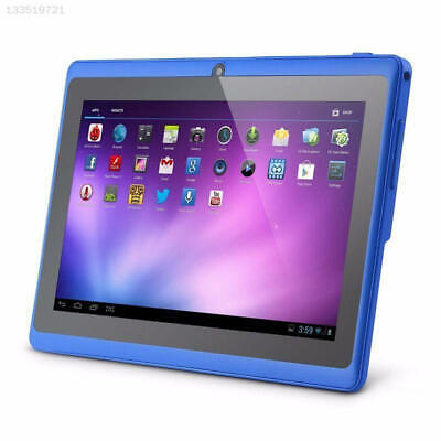 7'' Inch Blue 16G A33 Quad Core Dual Camera Android 4.4 HD Tablet PC WIFI UK