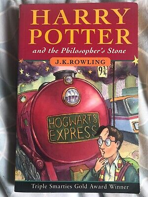 First Edition Harry Potter and the Philosopher's Stone by J. K. Rowling (1997)