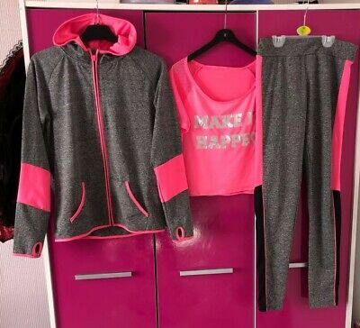 Girls Activewear 12-13 Years Tracksuit